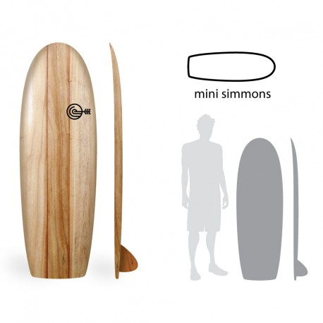 PRONTA ENTREGA - MINI SIMMONS 5'1