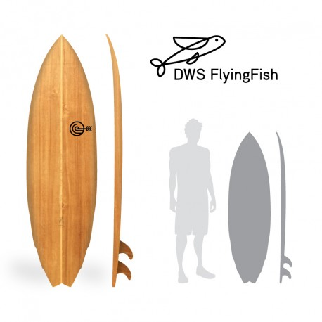 DWS Flying Fish 5'9 PRONTA ENTREGA