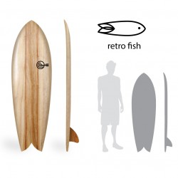 PRONTA ENTREGA - DWS Flying Fish 5'9